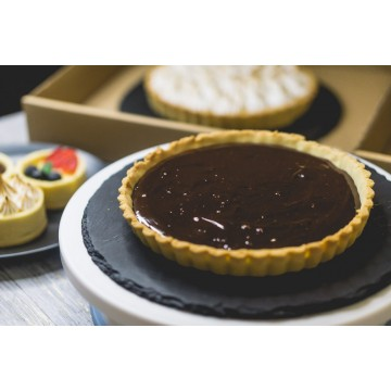 Dark Chocolate Tart (whole)