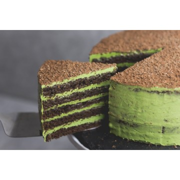 Double Chocolate Matcha Cake (Whole)